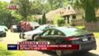 Man found shot in head after house fire at Detroit home grow operation - Video
