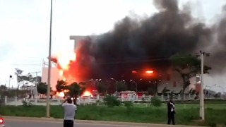 Firefighters Contain Blaze That Destroyed Abuja Church - Video