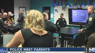 Green Bay Police Host Parent/Police Meeting - Video