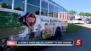 Mobile Diner Gives Free Food To Kids - Video