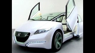 Toyota / Honda Concept Cars 2009 - Video