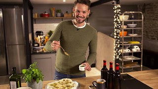 John Whaite's 5 ingredient garlic, anchovy and olive flatbreads - Video