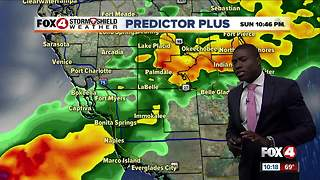 Rain Ending, Foggy Commute Monday - Video