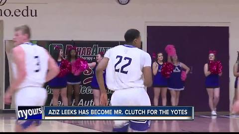 Aziz Leeks has become Mr. Clutch for the C of I