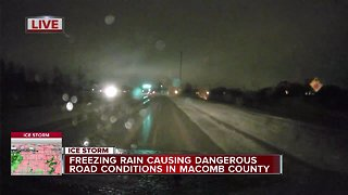 Macomb County preparing to clear icy roads - Video