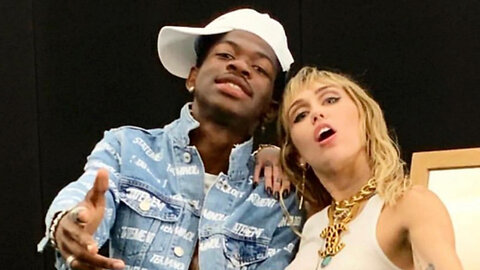 Miley Cyrus DEFENDS Lil Nas X's Decision To Come Out!