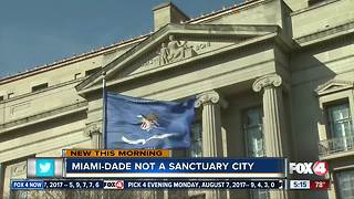 DOJ letter says Miami-Dade officially isn't 'sanctuary city' - Video