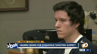 Hearing begins for Poway synagogue shooting suspect