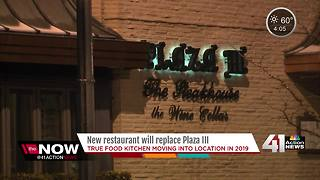 Plaza announces new restaurant in old Plaza III space - Video