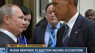 Russia responds to election hacking accusations - Video