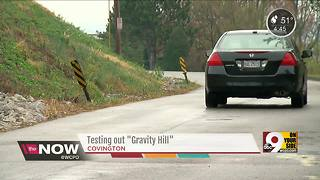 Does this NKY hill really defy gravity? - Video