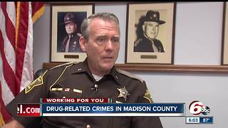 Madison County Sheriff: Drug addiction, robberies nothing like he's ever seen in 35 years - Video