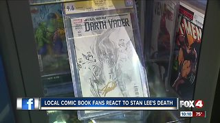 Local coic book fans react to Stan Lee's death