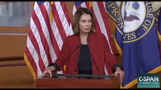 Nancy Pelosi Calls Tax Cuts For Everyday Americans 'Crumbs' (c) - Video