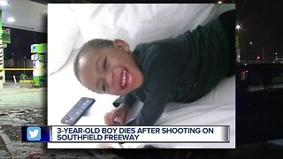 3-year-old dies after being shot on Detroit's west side