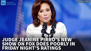 Judge Pirro's New Show On Fox Does Poorly In Friday Night's Ratings - Video