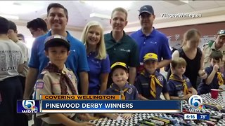 Pinewood Derby held in Wellington