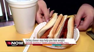 Ask Dr. Nandi: Want to lose weight? Try eating slower - Video