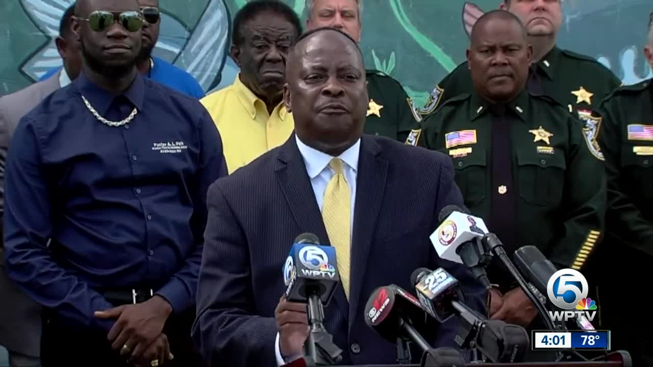 Community leaders, PBSO to address violence in Belle Glade