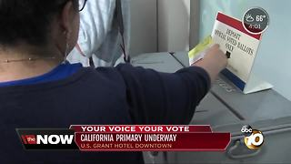 San Diego Republicans set the stage for election results