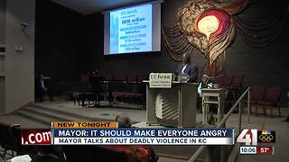 Mayor talks crime, education, racial issues at unofficial State of the City address