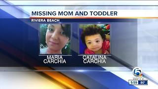 Maria Carchia: Riviera Beach mom, 2-year-old daughter missing - Video