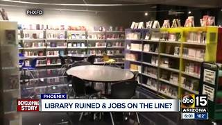 Burton Barr Library won't open until 2018 - Video