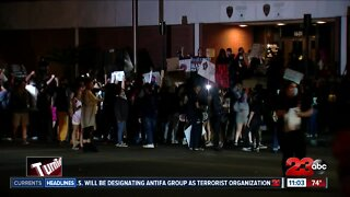 Day three of protests in Bakersfield