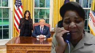 Kim Kardashian Broke the News to Alice Johnson That She Was Being Released - Video