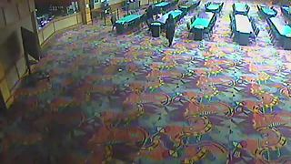Payson casino robbery suspects caught on camera: Video 1 - Video