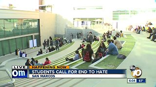 Cal State San Marcos students expected to rally against hate