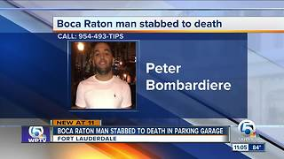 Boca Raton man stabbed to death in Fort Lauderdale - Video