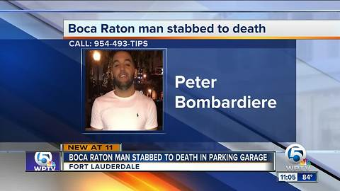 Boca Raton man stabbed to death in Fort Lauderdale