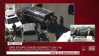 Suspect in custody after police pursuit in Phoenix