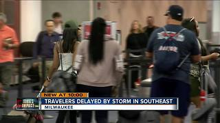 Hurricane Irma delays and cancellations affect Milwaukee airport - Video
