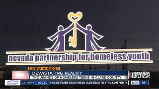Nearly half of homeless youth in Clark County are part of LGBTQ community
