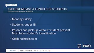 Collier County Public Schools offer free meals