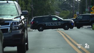 Woman dead, man in custody after Anne Arundel County officers attempt to serve warrant