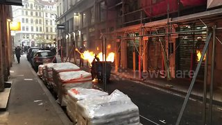 Yellow Vest protests in France hit with tear gas - Video
