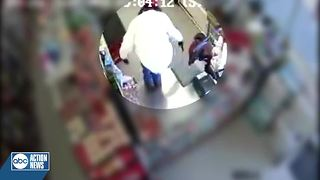 Tampa Police looking for suspect who robbed dollar store at gunpoint - Video