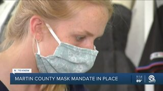 Martin County commissioners pass new mask mandate
