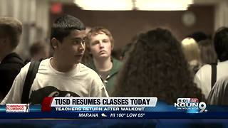 TUSD reopens Monday