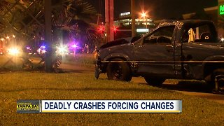 Deadly crashes forcing changes in Pinellas County