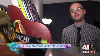 K State professor shares Olympic experience - Video