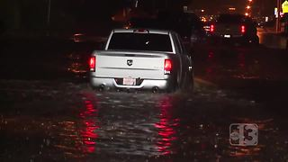 Las Vegas valley residents share monsoon concerns - Video