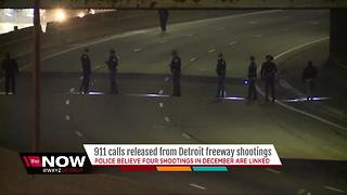 911 calls released following Detroit freeway shootings - Video