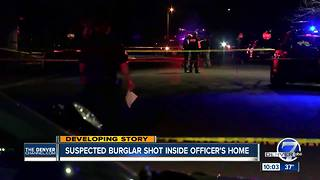 Sources: Littleton homeowner who shot suspected intruder was off-duty DPD officer - Video