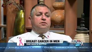 Local man talks about his battle with breast cancer