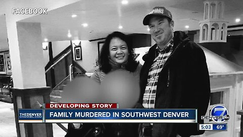 Family killed in shooting in southwest Denver