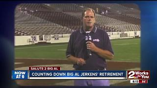 Big Al to say so long after 34 years - Video